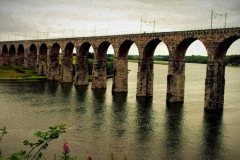 Royal Border Bridge grey